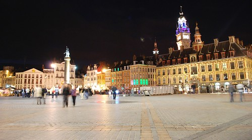 Lille by night | by Xavier Cloitre