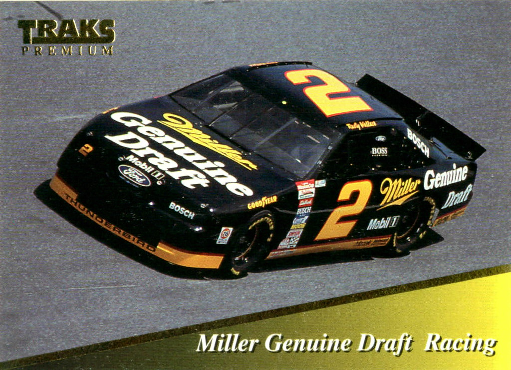 Rusty Wallace Ford >> Rusty Wallace 1994 Miller Ford Thunderbird | David Rider | Flickr