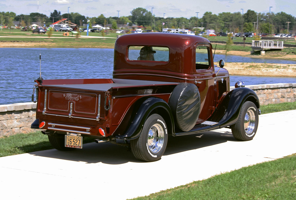 1935 ford half ton pickup 5 of 5 photographed at the rou flickr. Black Bedroom Furniture Sets. Home Design Ideas