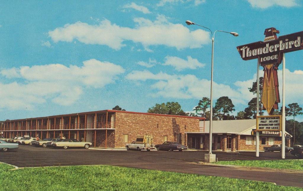 The Cardboard America Motel Archive Thunderbird Lodge Hardeeville South Carolina