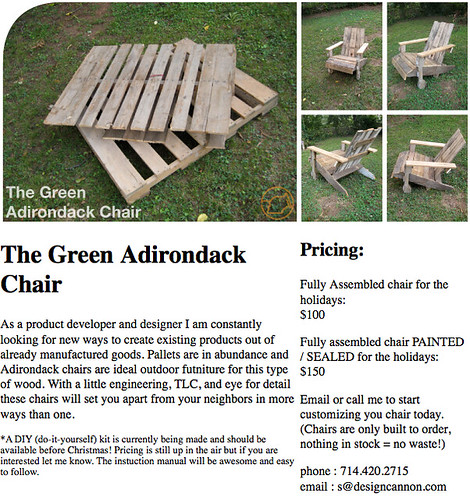 diy adirondack chair from pallet