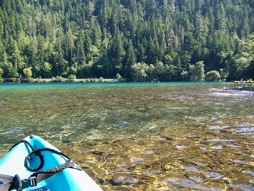 Kayaking on Lake Crescent | by Port Angeles Chamber