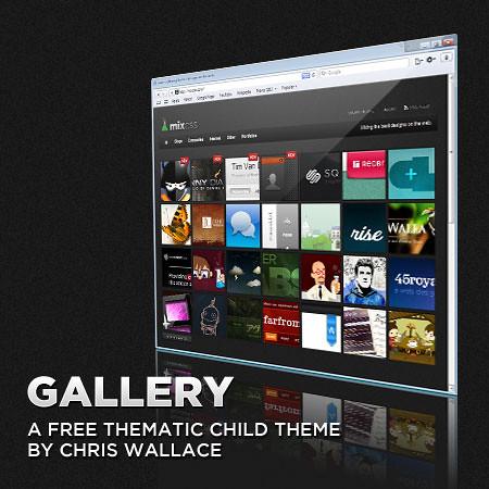 Gallery WordPress Theme - Blogger Template   www.ablogz.com/…   Flickr