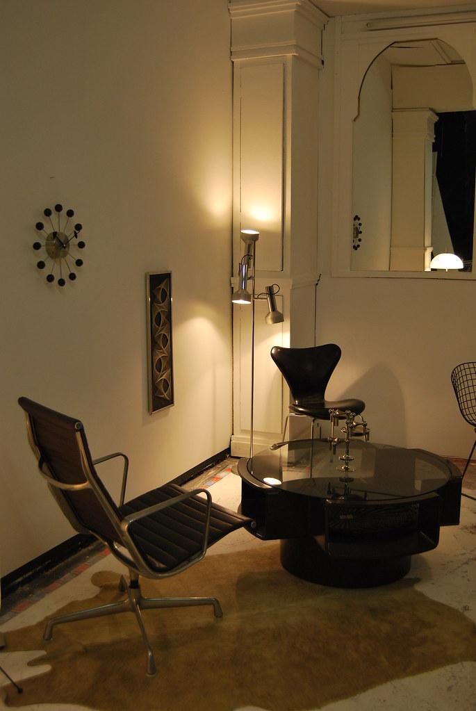 ... Vintage Eames Aluminum Group Lounge Chair   By Clockworkorange.fr