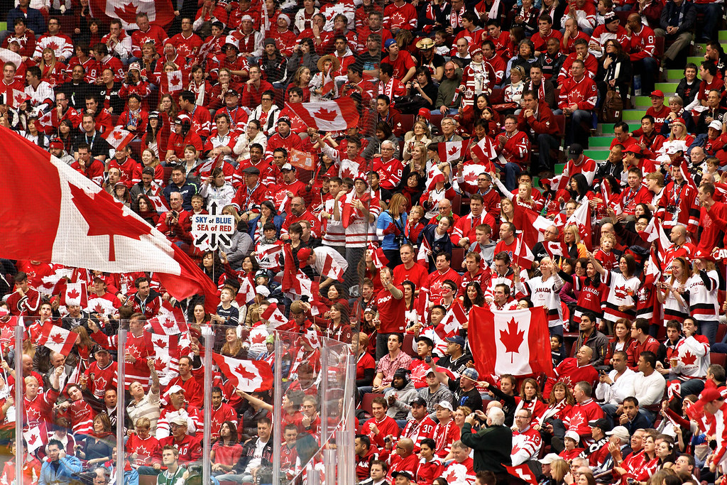 Switzerland vs. Canada | Canadian hockey fans are on the ...