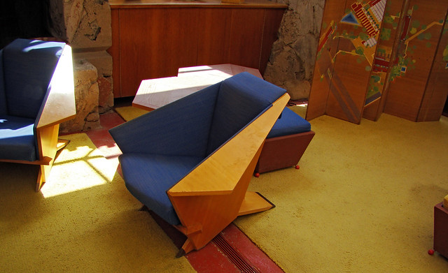frank lloyd wright origami chair plans