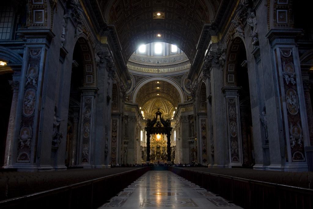 Basilica Di San Pietro Navata Centrale L 39 Immenso