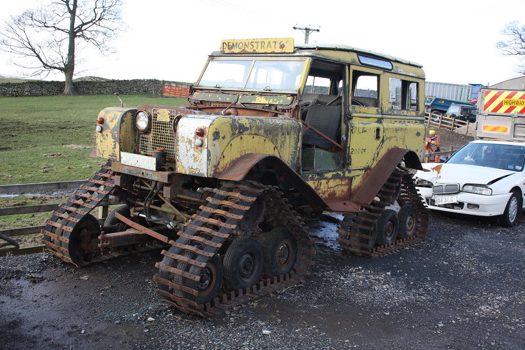 Jao 901n 1963 Land Rover Series Iia Cuthbertson Tracked