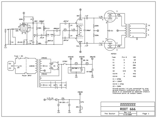 Dr Z Route 66 schematic dan mask Flickr