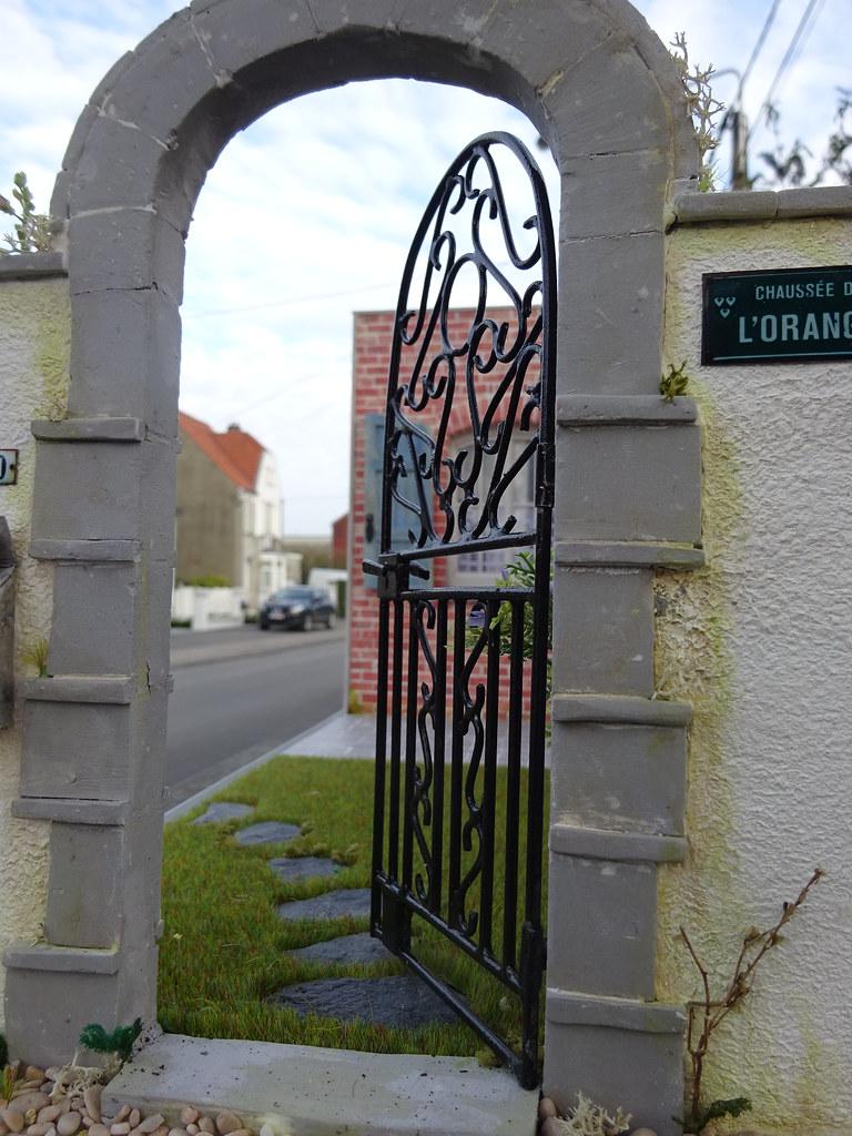 porte de jardin en métal 1 12e 2016 04 (7) | Metal gate made… | Flickr