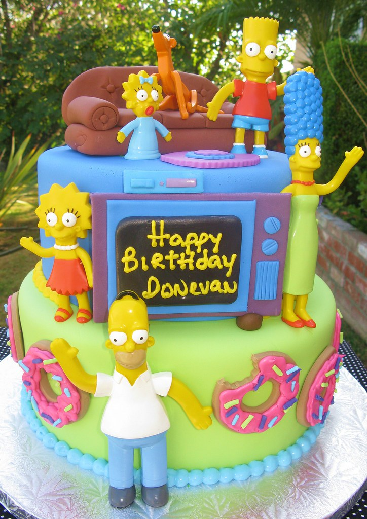 Simpsons Cake Pan