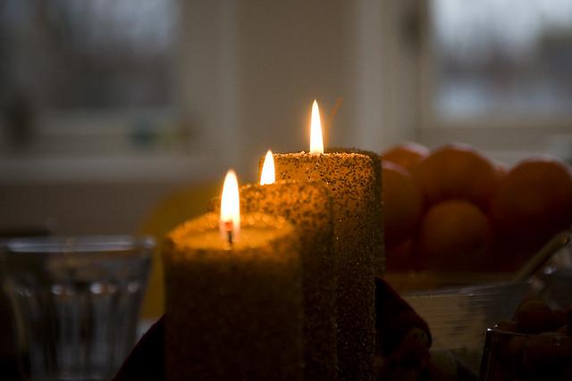 Advent Candles Week Three