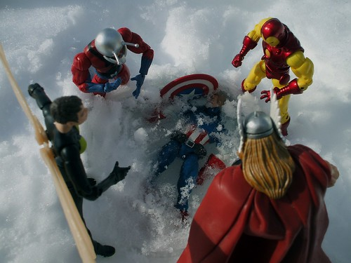 the Avengers find Captain America frozen | killswitched ...
