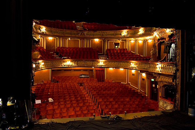 Apollo Theatre London The Inside Of The Apollo Seen From