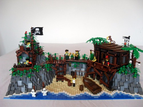 The skull beneath the skin one of my jrc entrys flickr - Ile pirate lego ...