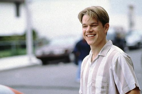 Matt Damon in Good Will Hunting   Matt Damon in Good Will ...  Matt Damon in G...