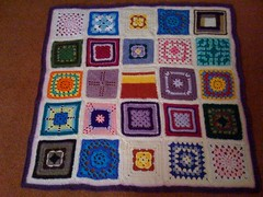 My first Blanket for the Elderly 2010. | by MRS TWINS/SIBOL 'Sunshine International Blankets