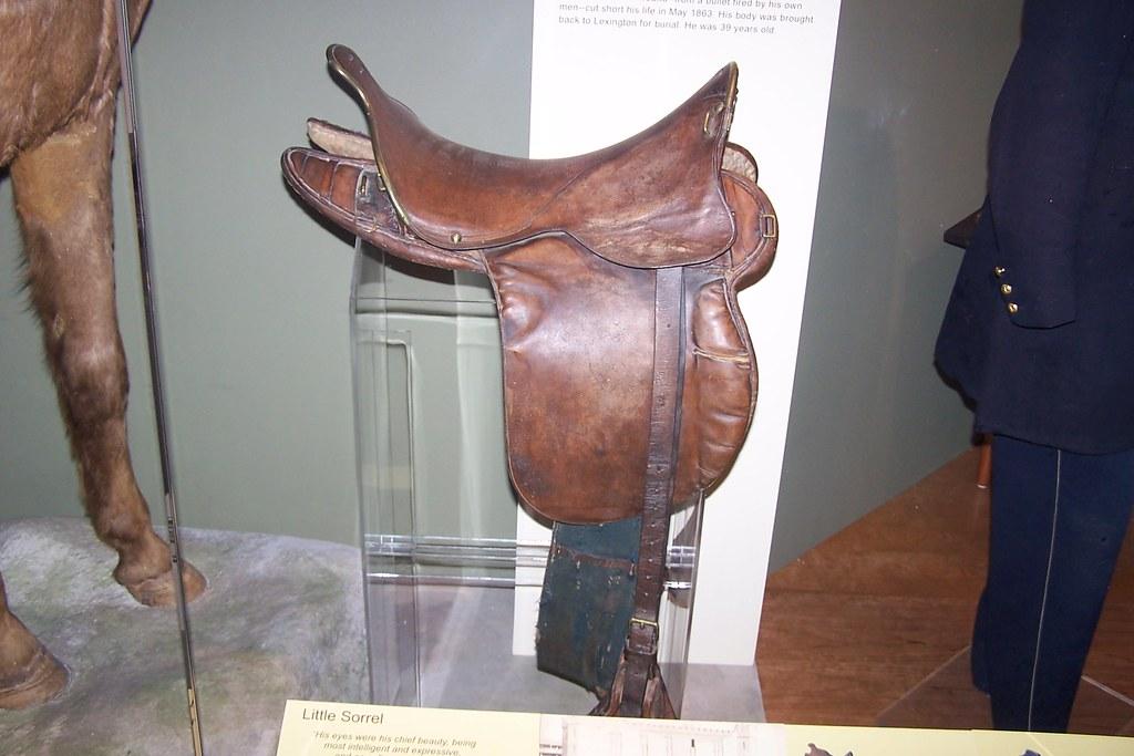 Little Sorrel's Saddle...