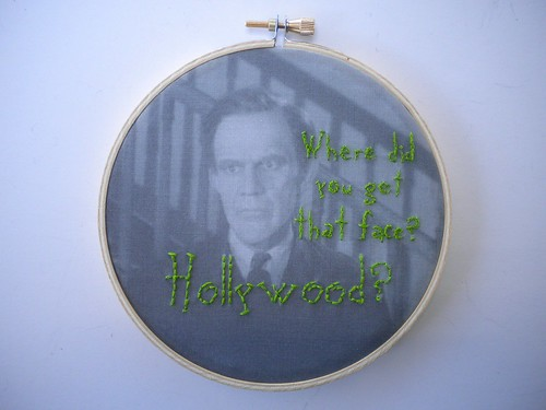 Arsenic and Old Lace Embroidery | by shaebay
