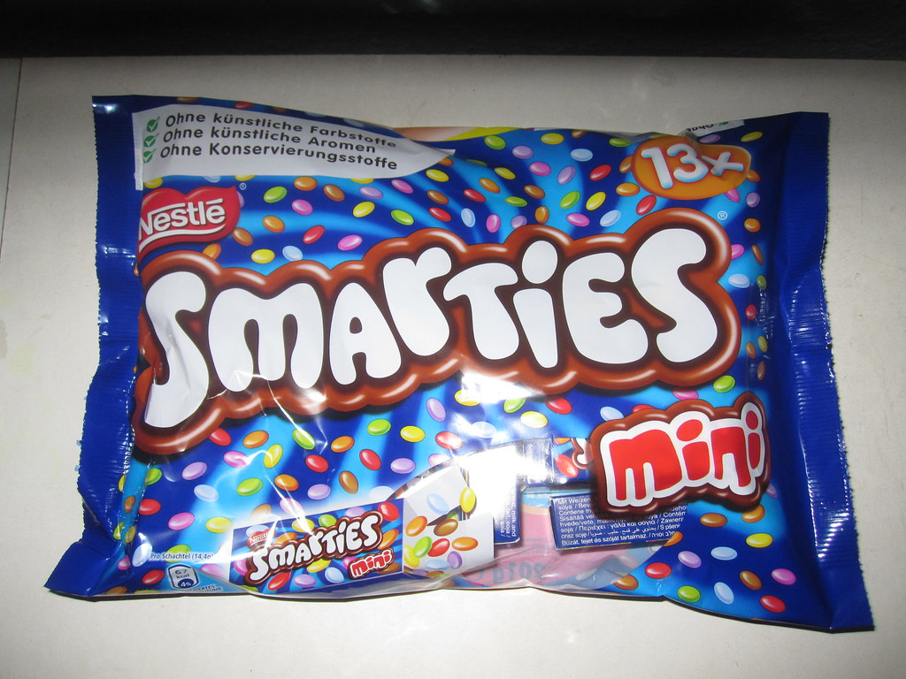 Smarties Mini | Mini chocolate dragees! Good for ... Smarties Mini