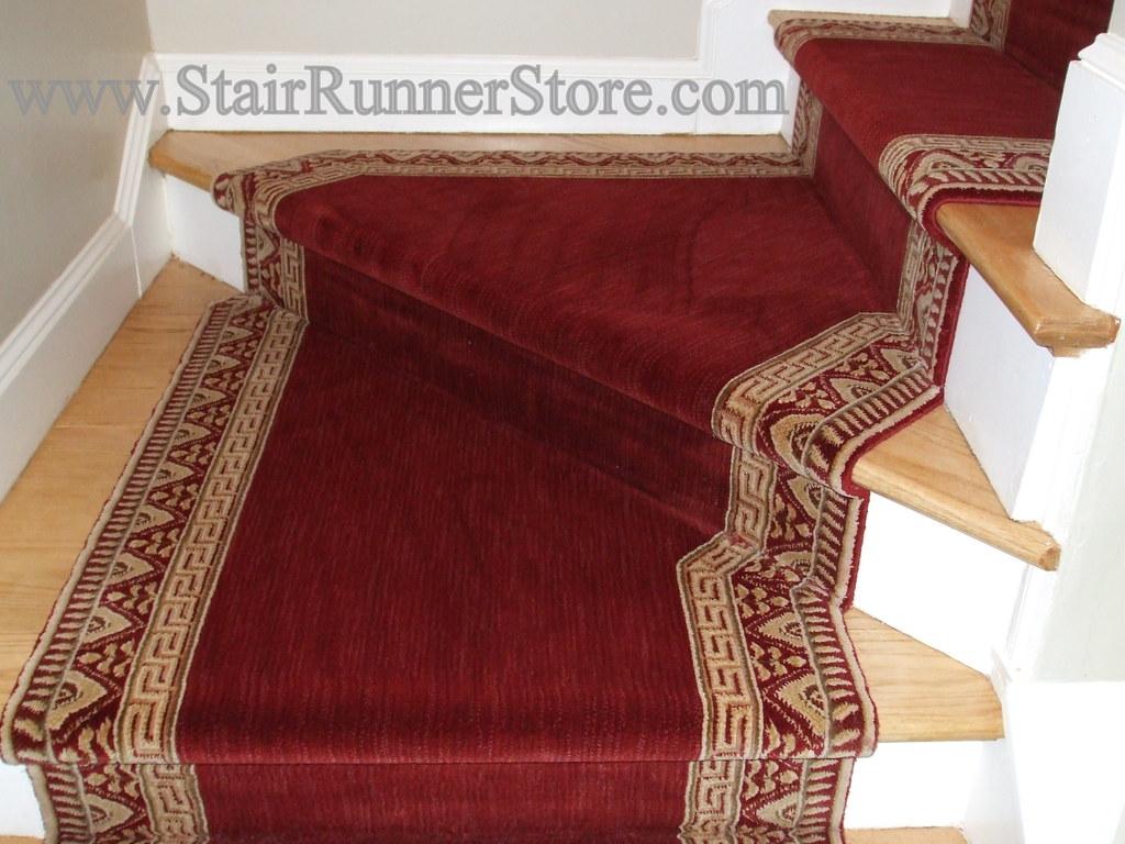 Superbe ... Pie Step Stair Runner Installation 6 | By The Stair Runner Store
