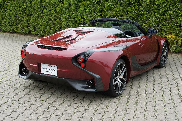 Grmn Sports Hybrid Concept Ii Toyota Motor Corporation