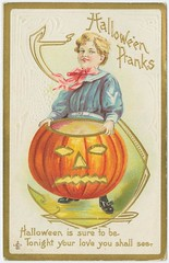 Hallowe'en pranks. | by New York Public Library