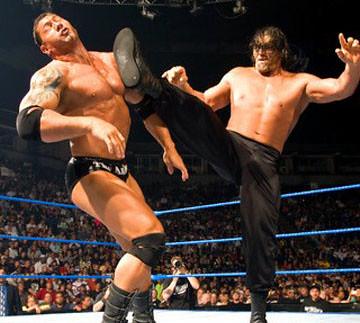 | The Great Khali kicks the big Batista | Vaibhav Arora | Flickr