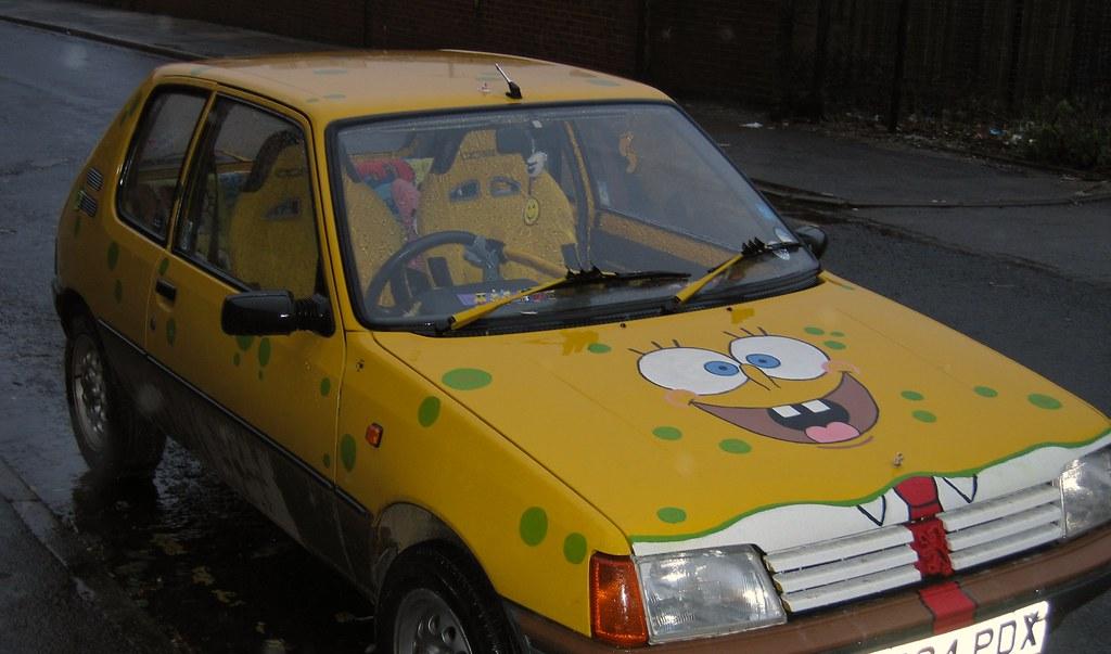 Spongebob Squarepants Car Seat Covers Set Pcs