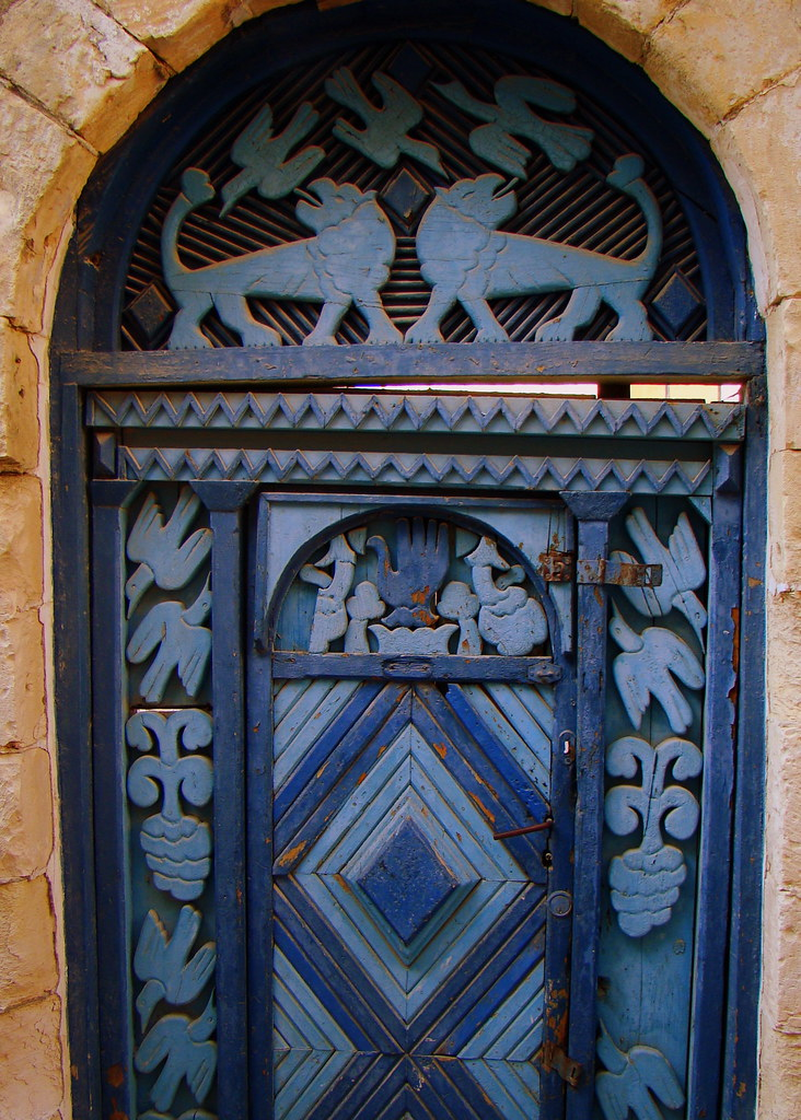 A Door In Safed With Jewish Mystical Symbols Jeremy Price Flickr