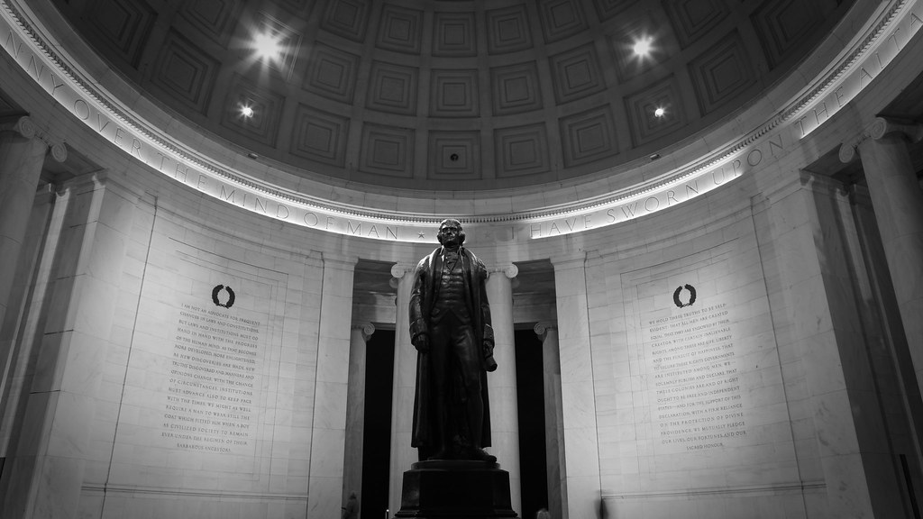 the political career and philosophy of thomas jefferson Start studying thomas jefferson (3rd president) learn vocabulary, terms, and more with flashcards, games what is thomas jefferson's political philosophy.
