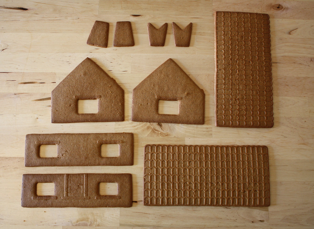 Swedish Gingerbread House Kit From Ikea How To Blogged