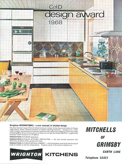 Wrighton Kitchens ad 1971 | by combomphotos