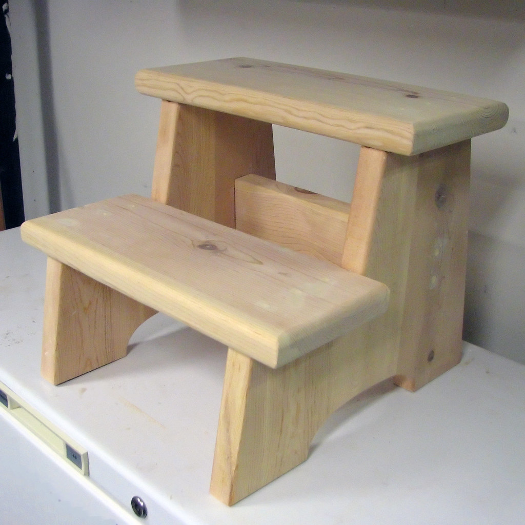 Step Stool (before painting) | Here's the more-or-less ...