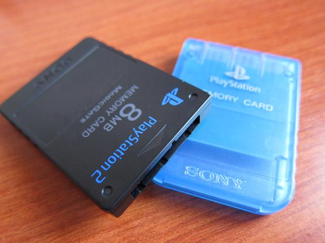 Memory Cards de Sony