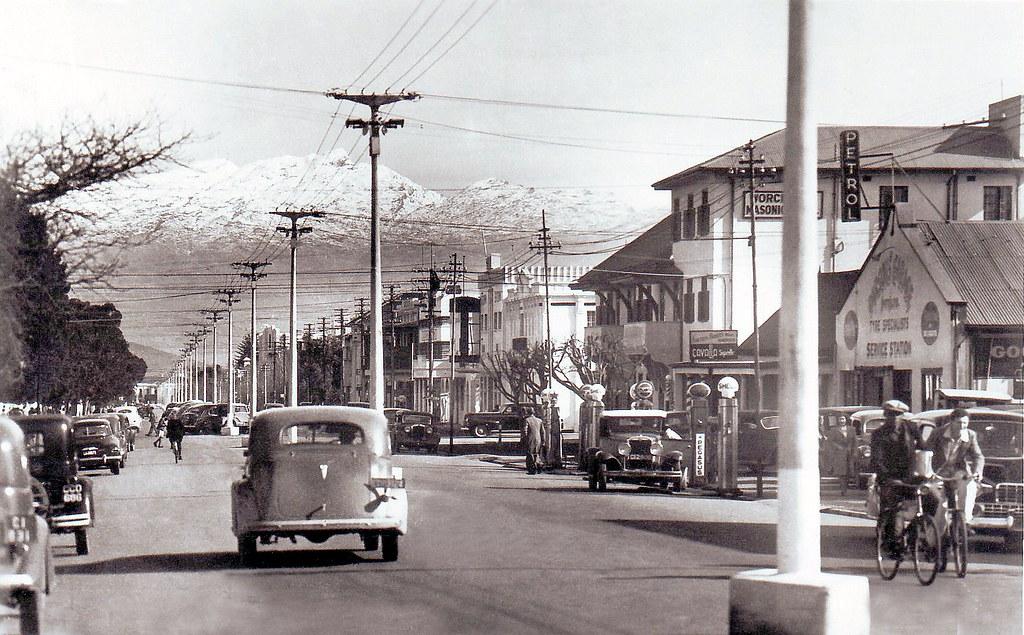 Car Town Motors >> High street, Worcester 1948.   Lots of interesting memories …   Flickr