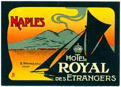 Napoli - Hotel Royal des Etrangers | by Luggage Labels by b-effe