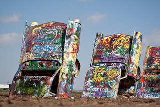 Cadillac Ranch in Amarillo, TX | by emily.schwarting