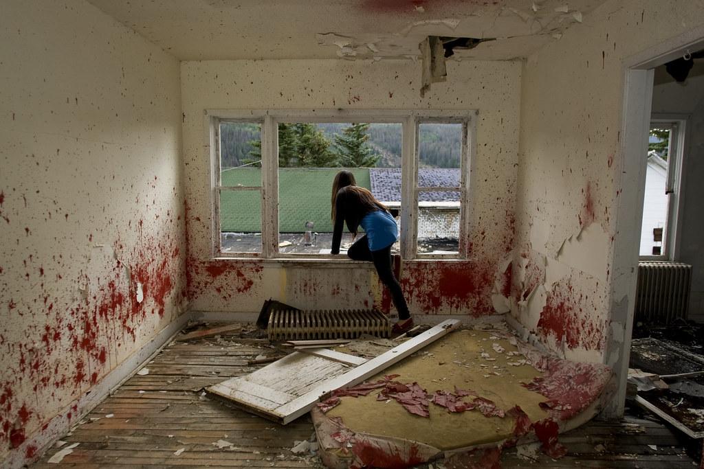Escaping the Blood Room | Gilman, Colorado, 2009. | Flickr