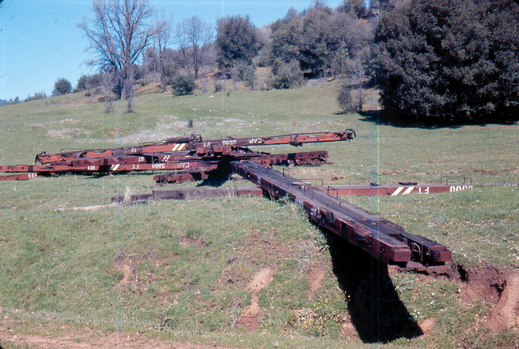 All About Cars >> West Side Lumber Co., 1966 | Scrapping of some of the log ...