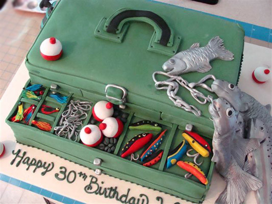 Tackle Box Cake Cakeido Flickr