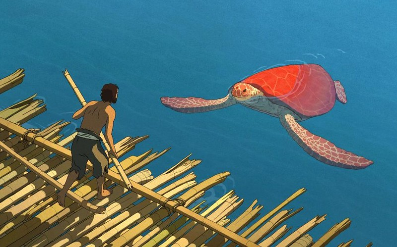 THE RED TURTLE HAS . . . a red turtle. OR DOES IT?