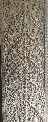 Some of the really pretty stone work in {:.caption}Angkor Wat
