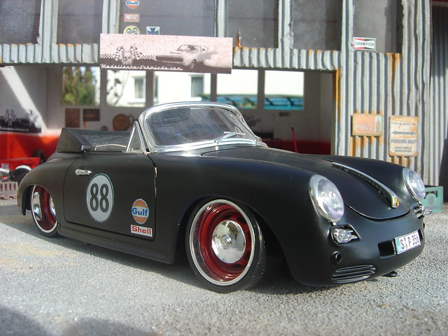 Porsche 356 Rod Rat 3 Porsche 356 Rat Rod Coloured In