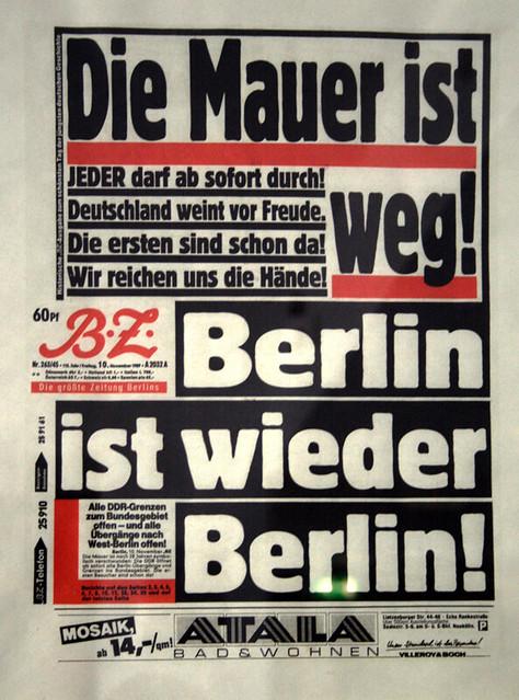 Wann Fiel Die Mauer In Berlin