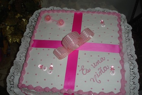 bizcocho para baby shower girl 3 dulcelsita 39 s cakes flickr