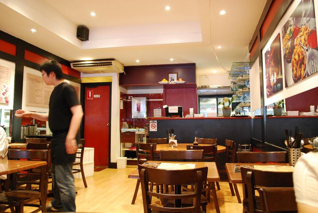 Hawker Street Cafe Menu