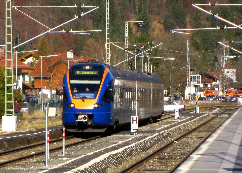 Cantus Flirt in Oberau | Der Triebwagen auf einer - Flickr