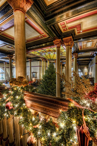 Driskill Tree In Lobby | by Evan Gearing (Evan's Expo)