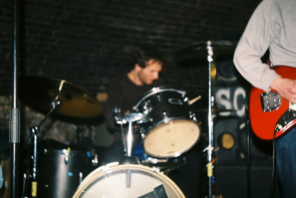 Paul Martin playing drums | Elisabeth | Flickr